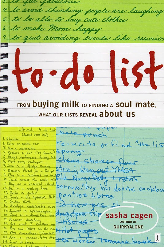 to do list from buying milk to finding a soul mate what our lists