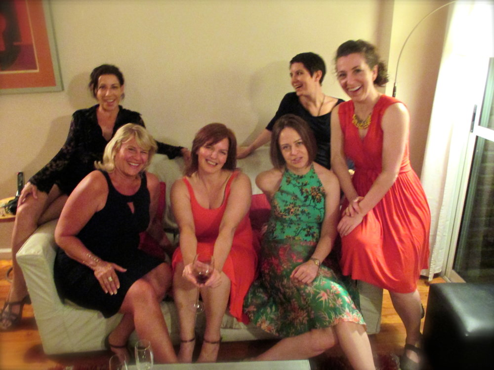 A tango goddess group back in March 2015