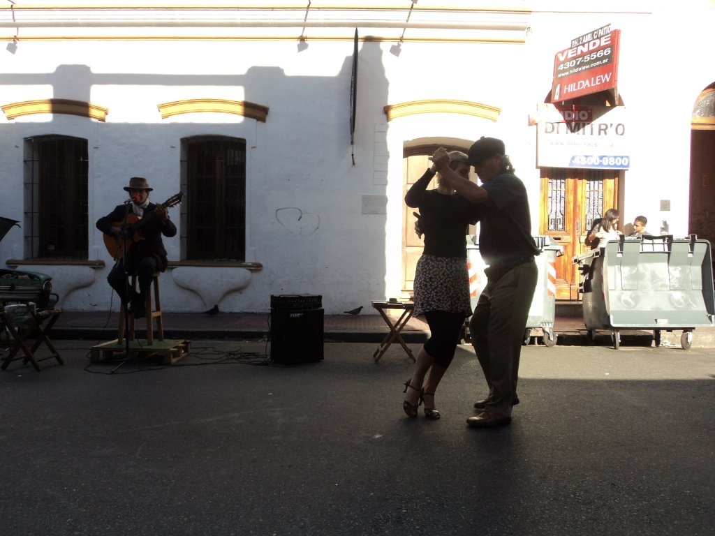 Dancing in the streets of San Telmo. Could this be you?