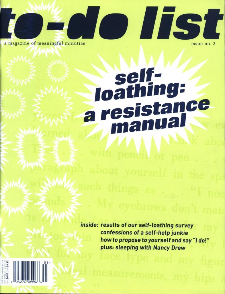 To-Do List magazine Issue 3