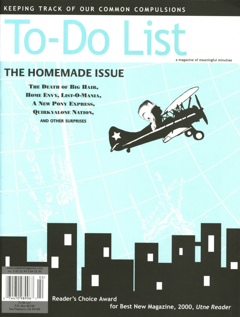 To-Do List Magazine Issue 2: The Home Issue