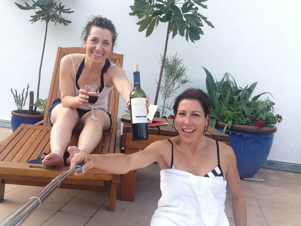Did we mention the Argentine wine? Malbec on the terrace during down time. Your schedule during the Tango Adventure week is packed, but also leaves time for moments like this. Tango Vacation Buenos Aires