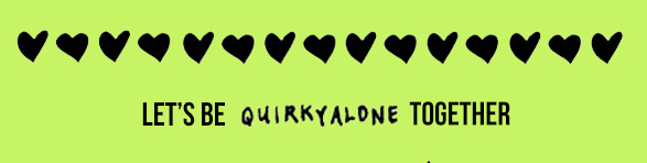 Join us to be Quirkyalone Together Feb. 14 in Oakland!