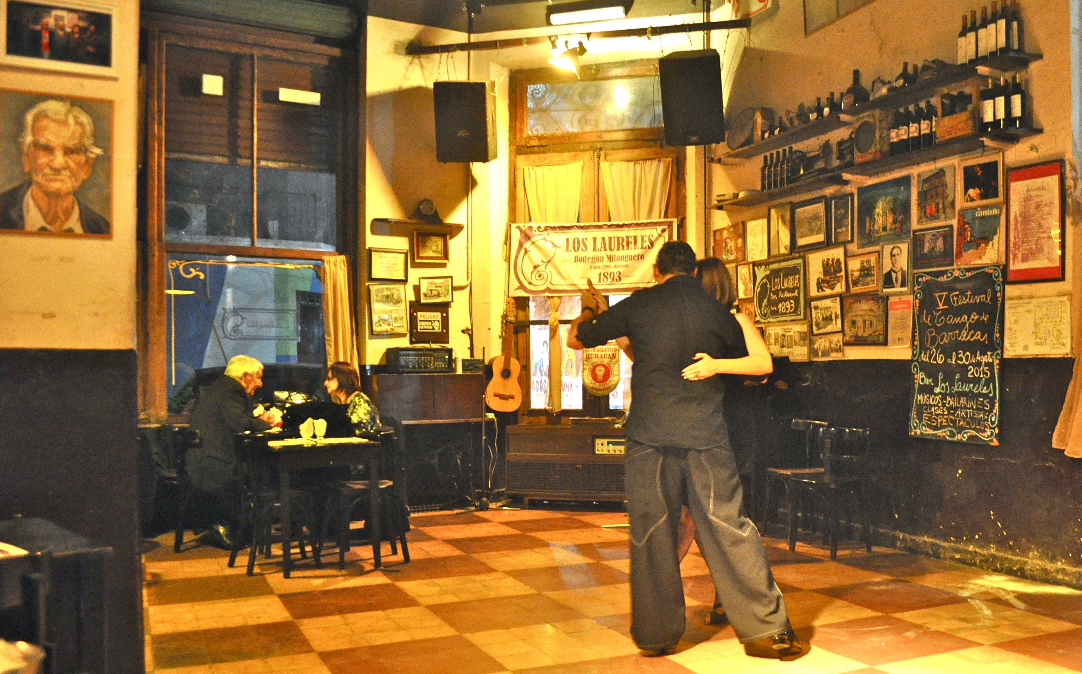 Here's our pic for the first night of the Tango Adventure. Over 100 years old and always a favorite. Tango Adventure: a 7-Day Tango Vacation in Buenos Aires